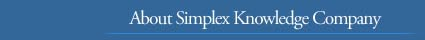 About Simplex Knowledge Company